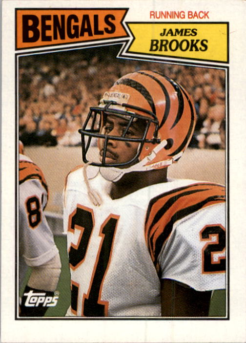 1987 Topps #186 James Brooks