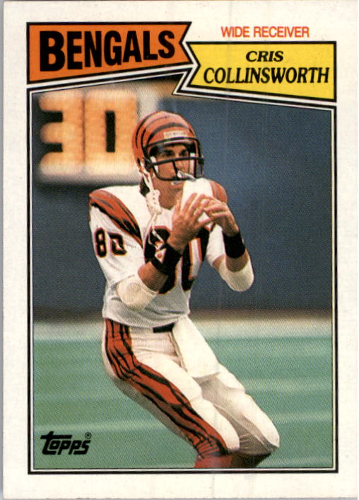 1987 Topps #188 Cris Collinsworth