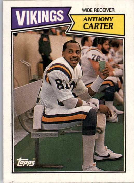 1987 Topps #202 Anthony Carter