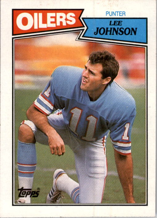 1987 Topps #311 Lee Johnson RC