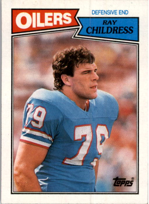 1987 Topps #314 Ray Childress