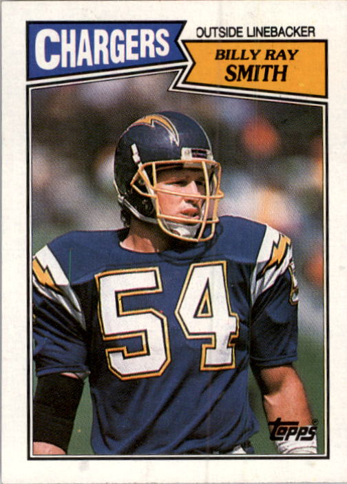 1987 Topps #348 Billy Ray Smith