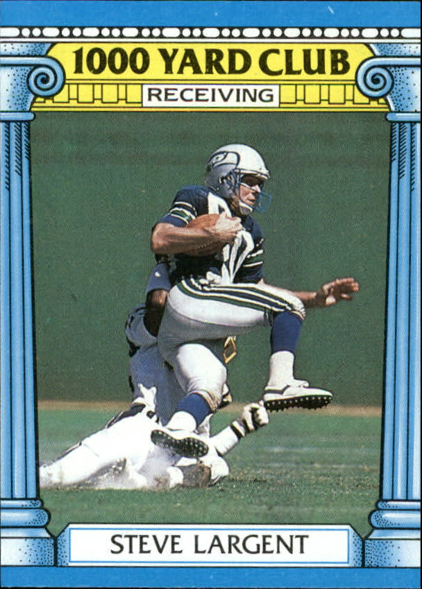 1987 Topps 1000 Yard Club #18 Steve Largent