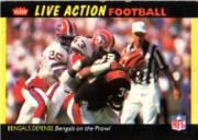 1987 Fleer Team Action #8 Cincinnati Bengals UER