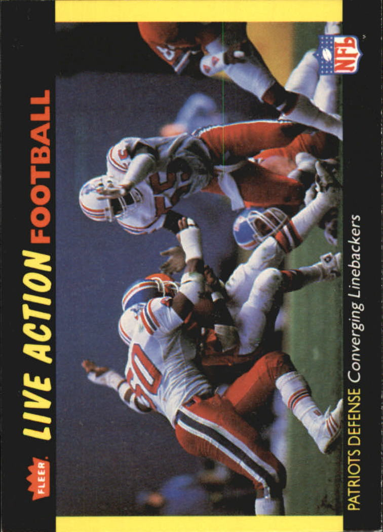 1987 Fleer Team Action #34 New England Patriots
