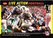 1987 Fleer Team Action #35 New Orleans Saints