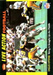 1987 Fleer Team Action #41 Philadelphia Eagles