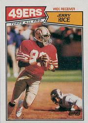 1987 Topps American/UK #30 Jerry Rice