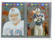 1987 Topps Stickers #138 Dan Marino/ 152 Rohn Stark AP FOIL