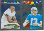 1987 Topps Stickers #143 Al Toon/ 283 Dan Marino AP FOIL