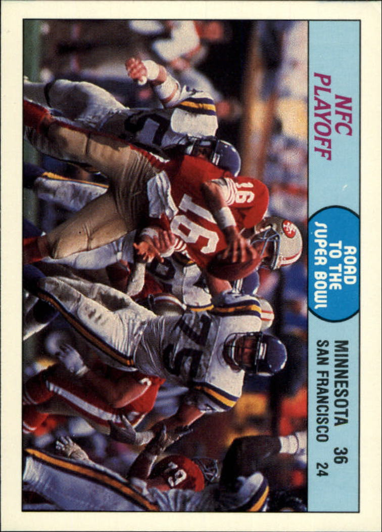 1988 Fleer Team Action #70 NFC Playoff Game