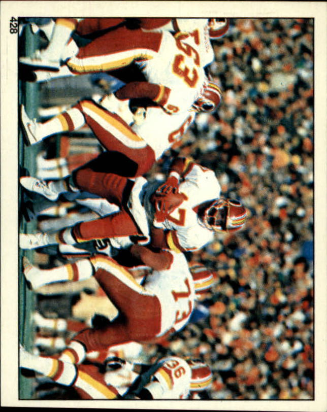 1988 Panini Stickers #428 Washington Redskins Action