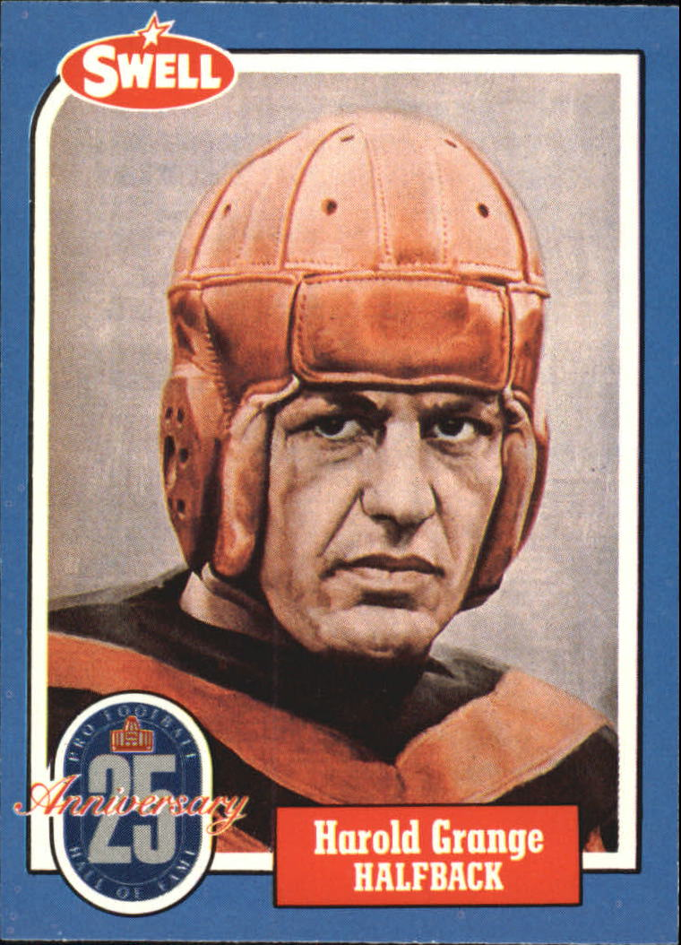 1988 Swell Greats #42 Red Grange 63