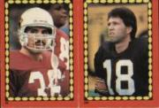 1988 Topps Stickers #28 Vai Sikahema/ 280 Harry Newsome