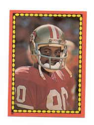 1988 Topps Stickers #60 Jerry Rice