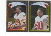 1988 Topps Stickers #137 Darrell Green/ 151 Jerry Rice AP FOIL