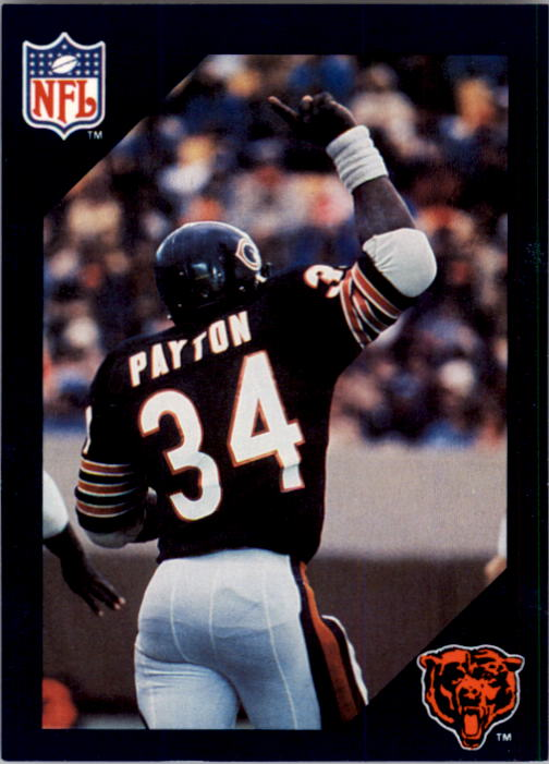 1988 Walter Payton Commemorative #1 Leading Scorer in