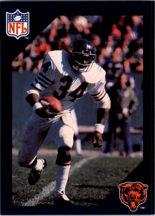 1988 Walter Payton Commemorative #2 1975 Game-by-Game