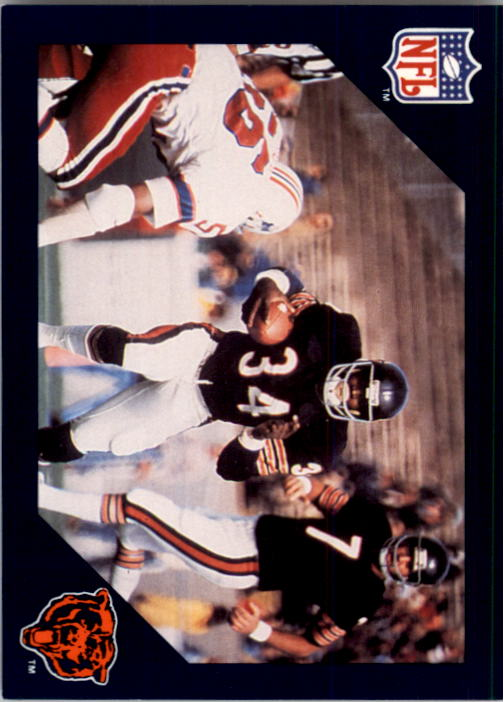 1988 Walter Payton Commemorative #7 Vs. New England