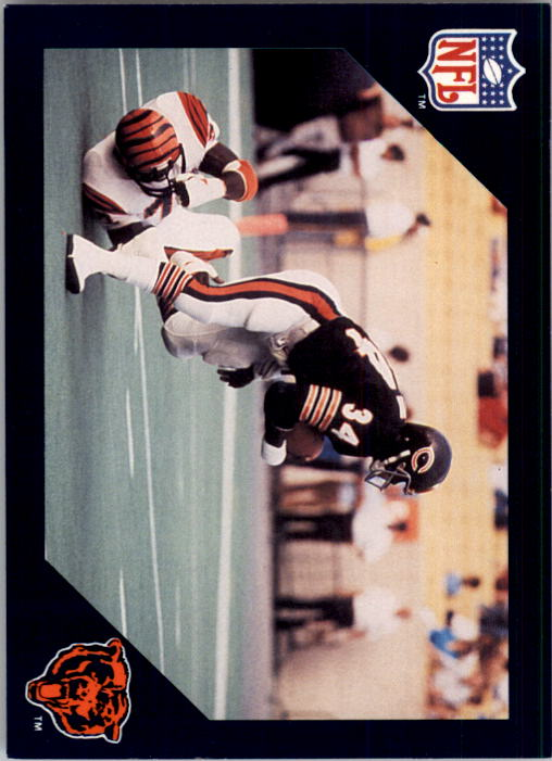 1988 Walter Payton Commemorative #10 Vs. Cincinnati