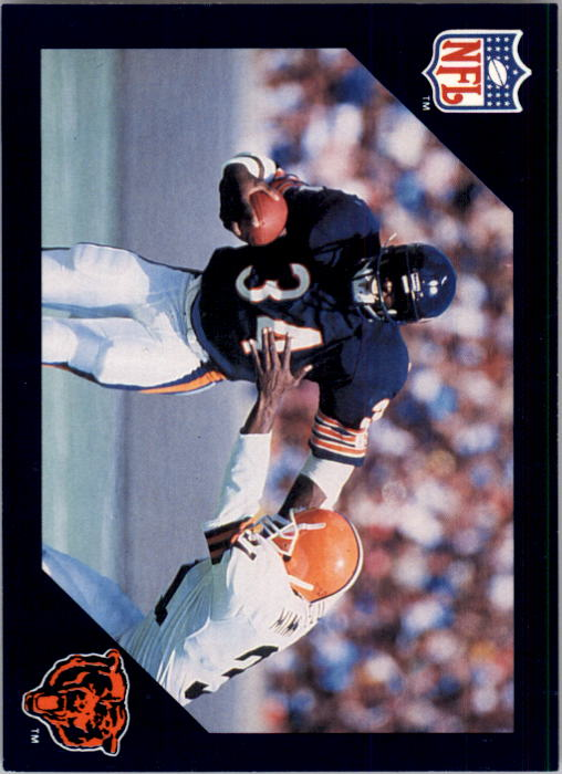 1988 Walter Payton Commemorative #11 Vs. Cleveland Browns