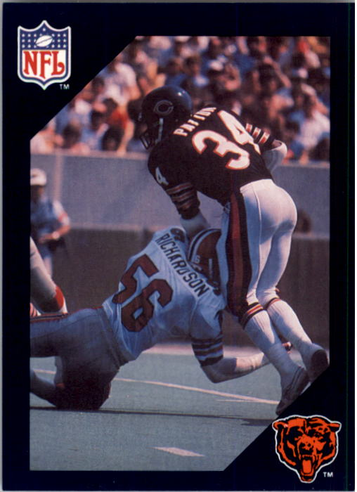 1988 Walter Payton Commemorative #12 Vs. Kansas City