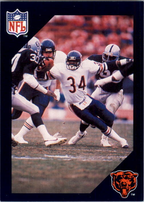 1988 Walter Payton Commemorative #13 Vs. Oakland/
