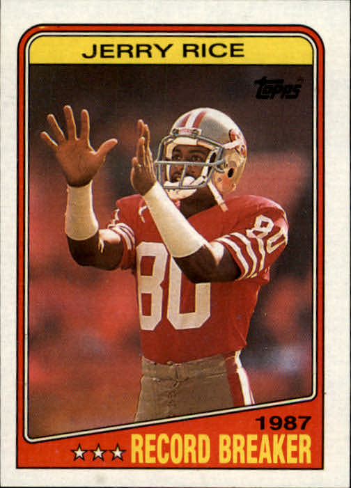1988 Topps #6 Jerry Rice RB