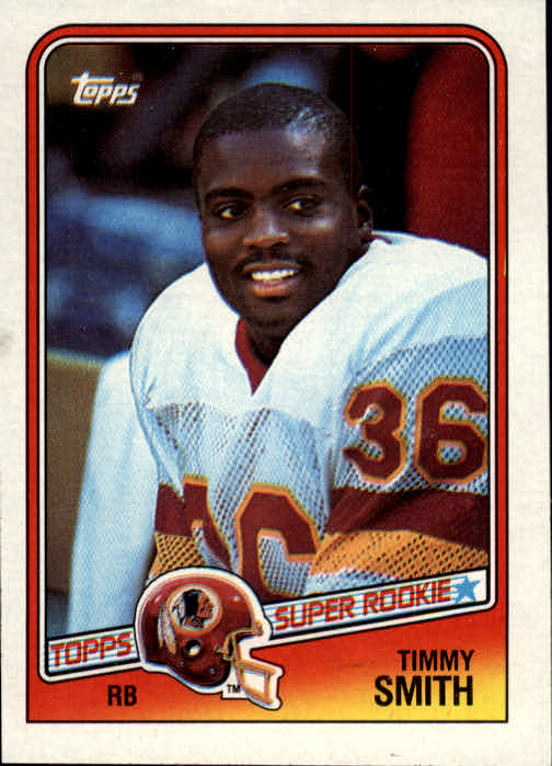 1988 Topps #11 Timmy Smith SR