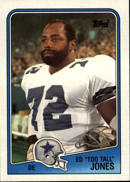 1988 Topps #266 Ed Too Tall Jones