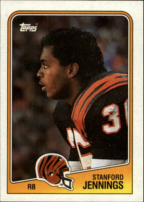 1988 Topps #342 Stanford Jennings RC