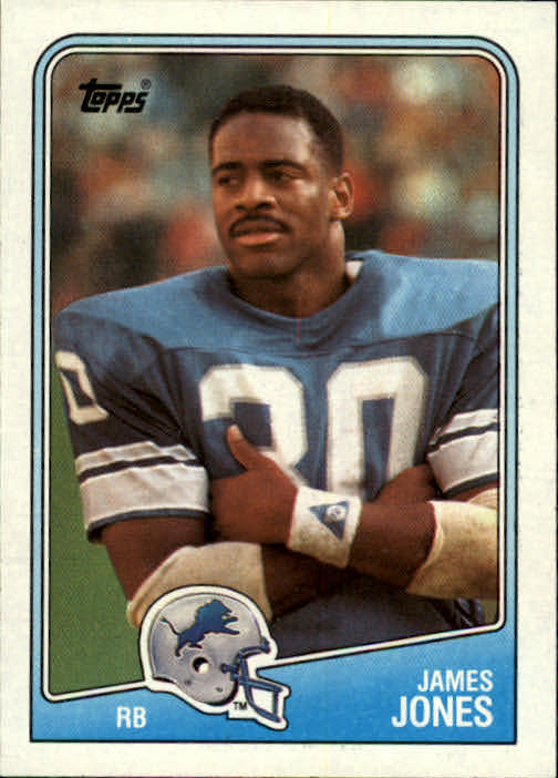 1988 Topps #375 James Jones FB