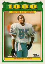 1988 Topps 1000 Yard Club #7 Drew Hill