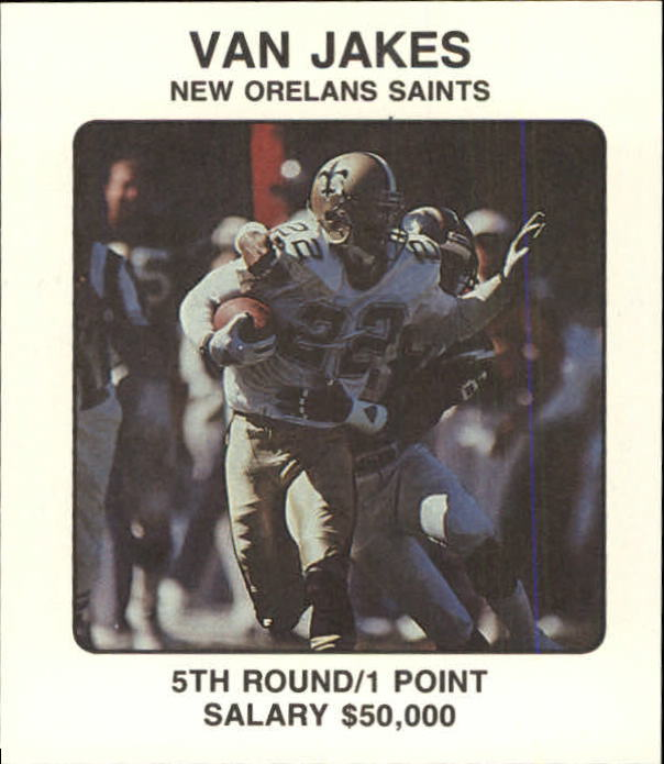 1989 Franchise Game #272 Van Jakes