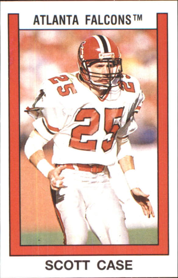1989 Panini Stickers #7 Scott Case