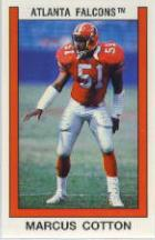 1989 Panini Stickers #11 Marcus Cotton