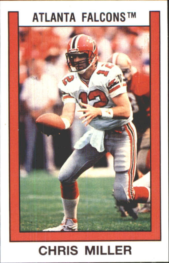 1989 Panini Stickers #12 Chris Miller