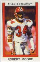 1989 Panini Stickers #13 Robert Moore