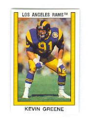 1989 Panini Stickers #85 Kevin Greene