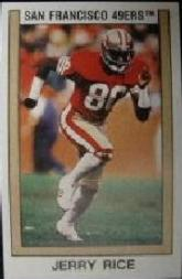 1989 Panini Stickers #161 Jerry Rice