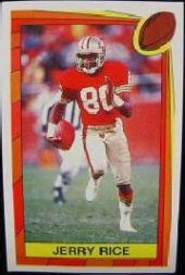 1989 Panini Stickers #412 Jerry Rice