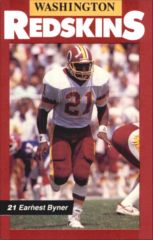 1989 Redskins Police #21 Earnest Byner