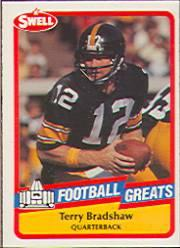 1989 Swell Greats #1 Terry Bradshaw