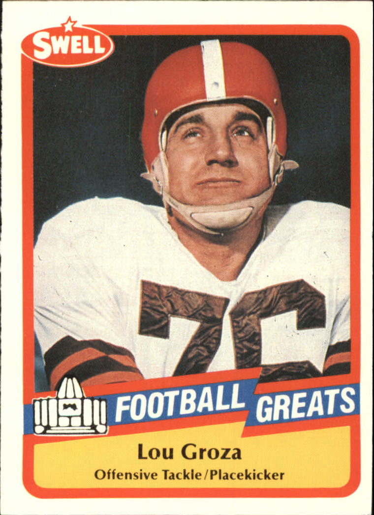 1989 Swell Greats #86 Lou Groza