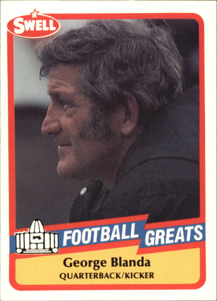 1989 Swell Greats #114 George Blanda