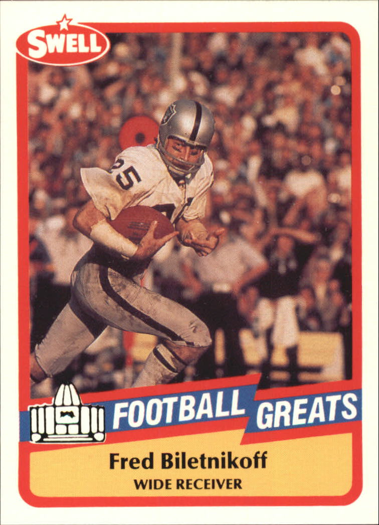 1989 Swell Greats #146 Fred Biletnikoff