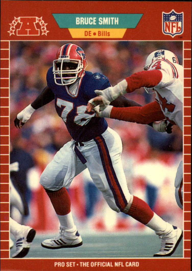 1989 Pro Set #28 Bruce Smith