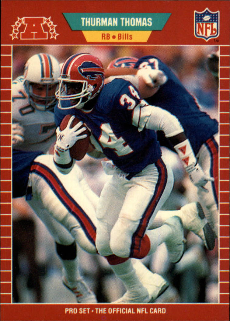 1989 Pro Set #32 Thurman Thomas RC
