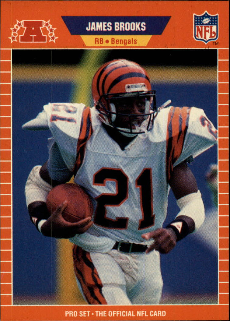 1989 Pro Set #55 James Brooks