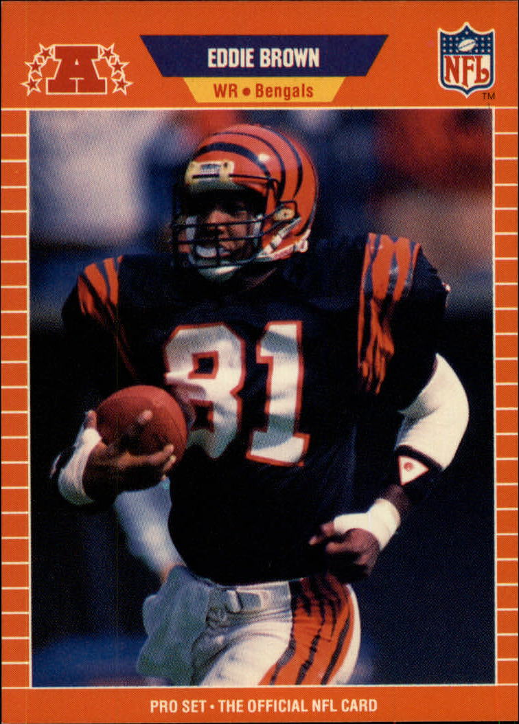 1989 Pro Set #56 Eddie Brown